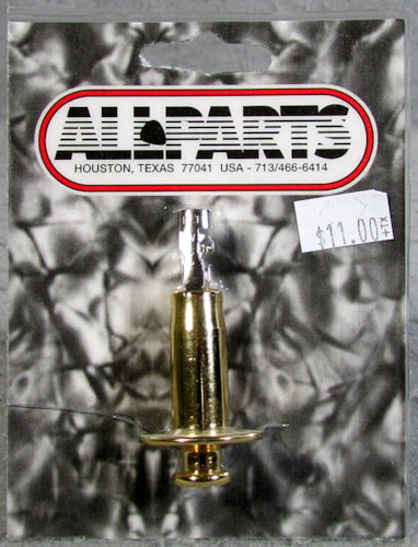 Allparts EP-4605-002 Gold Stereo End Pin Jack