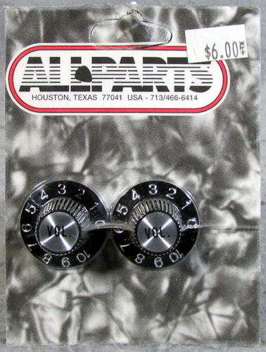 Allparts PK-3244-023 Witch Hat Volume Knobs