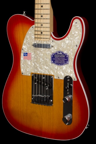 2013 fender american deluxe telecaster aged cherry burst guitars electric solid body rudys music. Black Bedroom Furniture Sets. Home Design Ideas