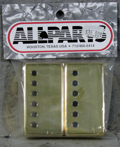 Allparts PC-0300-002 Humbucking Pickup Covers Gold