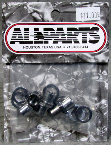 Allparts TK-0787-010 Sperzel Screw-In Bushings Chrome