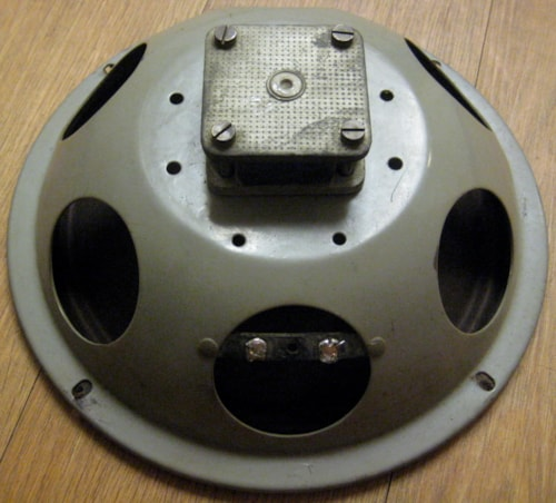 "Goodmans GREY FRAME 10"" SPEAKER ALNICO MODEL 4 OHM"