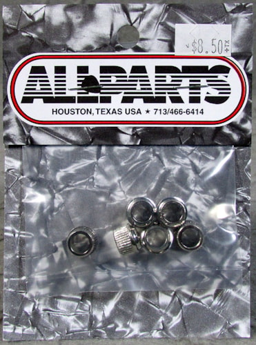 Allparts TK-0900-001 Adaptor Bushings Nickel