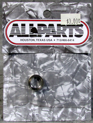 Allparts EP-4923-001 Nickel Deep Round Nut