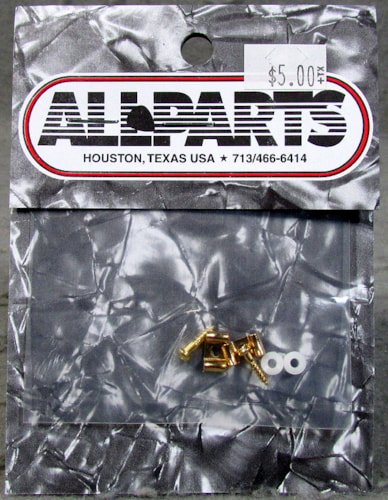 Allparts AP-0720-002 Gold String Guides