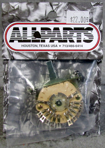 Allparts EP-0078-000 4-Pole 5-Way Super Switch
