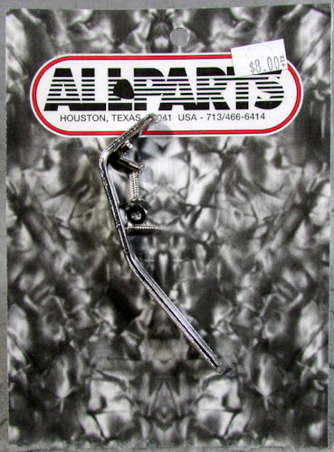 Allparts AP-0628-001 Nickel Pickguard Support
