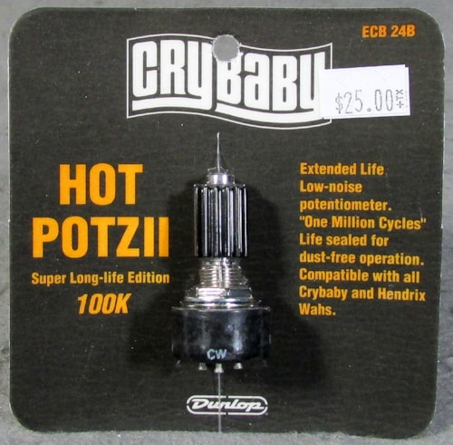Dunlop Crybaby Hot Potz II 100K Potentiometer
