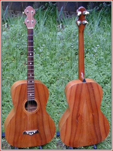 1928 Weissenborn Koa Wood Tenor Guitar