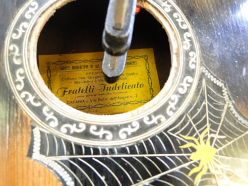1948 Fratelli Indelicato Fancy Italian Guitar