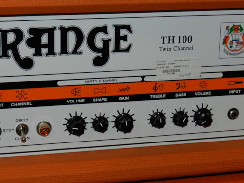 2010 Orange Th 100 head