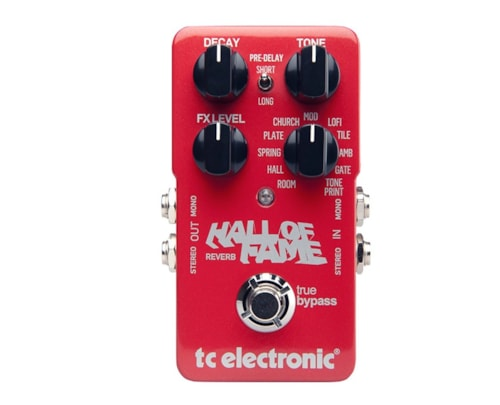 TC Electronics Hall of Fame Reverb