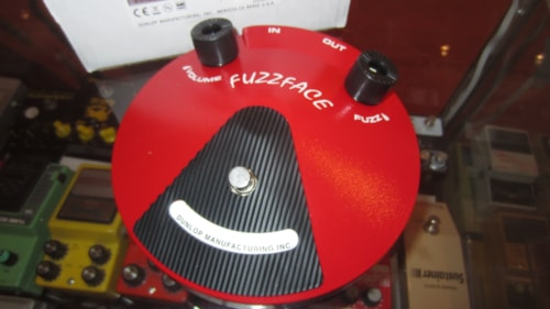 2013 Jim Dunlop Fuzz Face Distortion