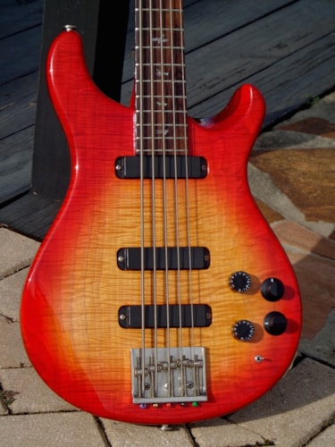 1987 PRS Curly V 5-string Bass