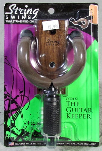 String Swing String Swing CC01K - The Guitar Keeper - Walnut
