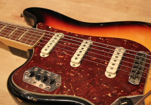 2011 Fender® Custom Shop Masterbuilt Left Handed 60′s Relic Bass VI