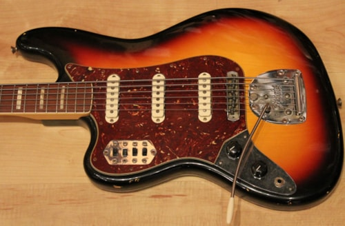 2011 Fender® Custom Shop Masterbuilt Left Handed 60′s Relic® Bass VI