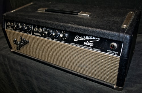 1964 Fender Bassman Amp (Blackface) *SOLD*