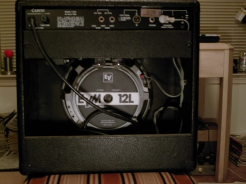 """~1990 Carvin X60A Combo Amp w/EV """"Owned By Frank Zappa"""""""