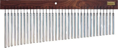 Tree Works 35 Bar Chimes with Solid Walnut Bar #TRE35