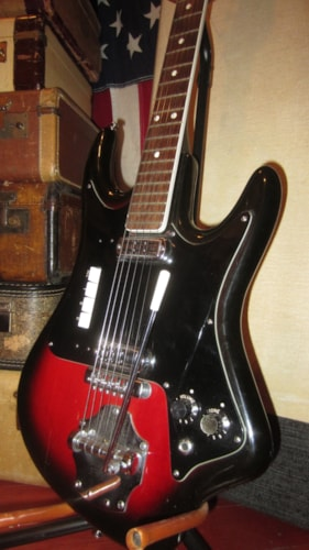 ~1963 Crucianelli Elli-Sound Double Pickup Solidbody