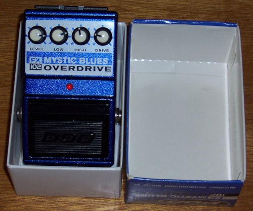 DOD FX-102 Mystic Overdrive Pedal