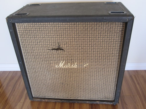 ~1972 MARSHALL 1960B 4x12 VINTAGE CABINET w/ CELESTION 014
