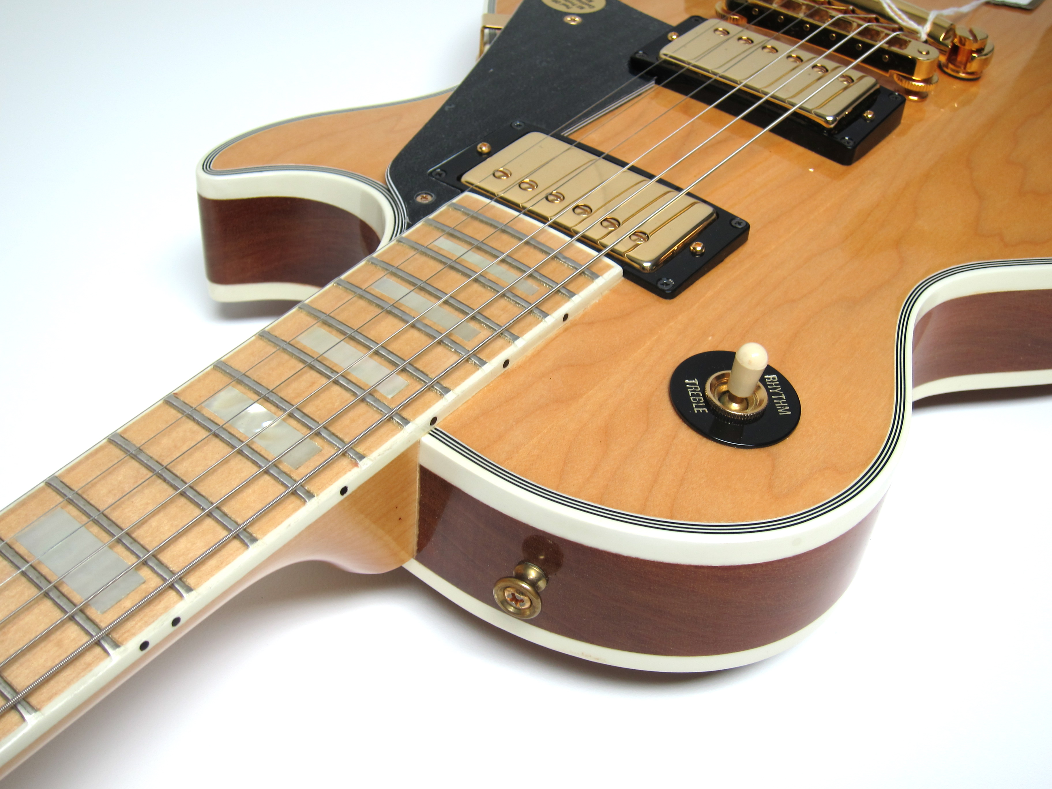 Gibson Les Paul Custom Fret Wire Center 1981 Wiring Harness Owned Natural U003e Guitars Rh Gbase Com