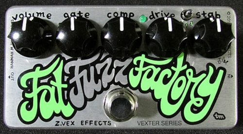 2013 Z VEX Vexter Series Fat Fuzz Factory