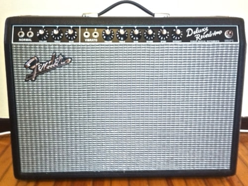 Fender® *SOLD* Deluxe Reverb® Amp w/ Blue Alnico Speaker
