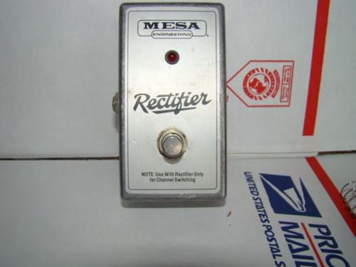 Mesa Boogie Rectifier Foot Switch