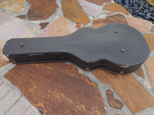 """~1968 Gibson L-5 or L-7 hard case 17"""""""