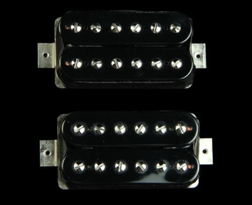 Bare Knuckle Aftermath Standard Spacing Pickup Set (Black Open-Coil)