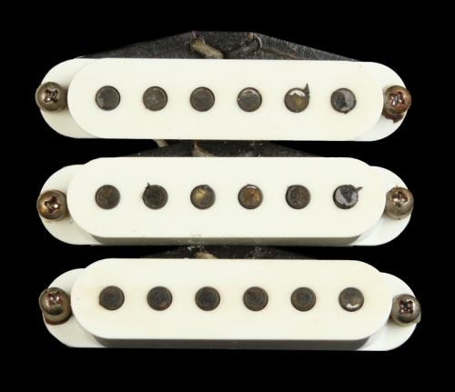Bare Knuckle Apache Single Coil Pickup Set (Aged Parchment)