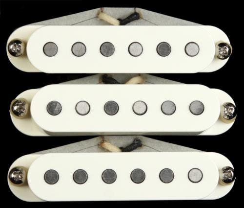 Bare Knuckle Irish Tour SIngle Coil Pickup Set (Parchment)