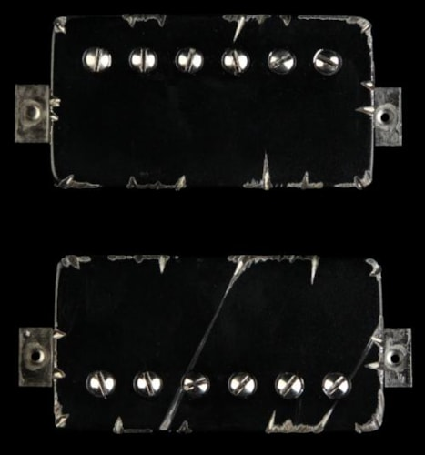 Bare Knuckle Painkiller Humbucker Pickup Set (Black Battleworn)