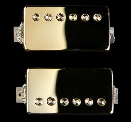 Bare Knuckle Stormy Monday Humbucker Pickup Set (Gold)