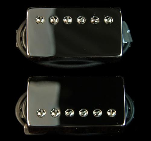 Bare Knuckle Black Dog Humbucker Pickup Set (Nickel)