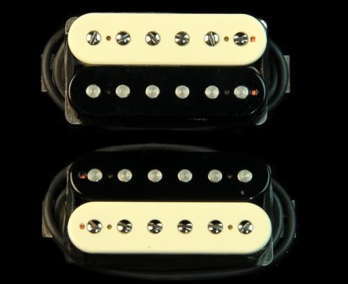 Bare Knuckle Black Dog Humbucker Pickup Set (Zebra)