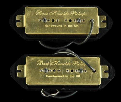 Bare Knuckle Dogear Pig 90 Pickup Set (Black)