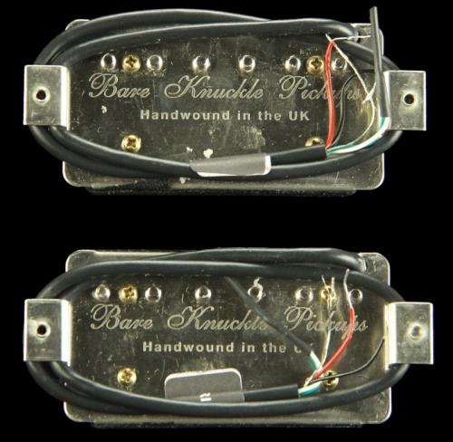 Bare Knuckle Holy Diver Humbucker Pickup Set (Black Open Coil)
