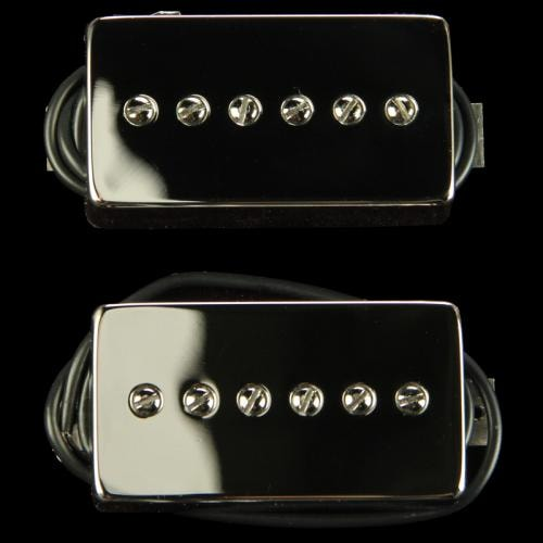 Bare Knuckle Mississippi Queen Humbucker-Size P90 Pickup Set (Nickel)