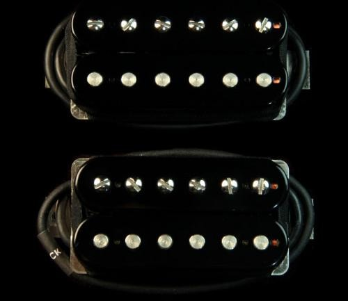 Bare Knuckle Painkiller Humbucker Pickup Set (Black Open-Coil)