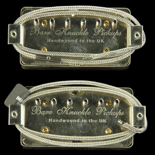 Bare Knuckle PG Blues Humbucker Pickup Set (Aged Nickel)