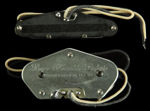 Bare Knuckle Piledriver Tele Pickup Set (Nickel)