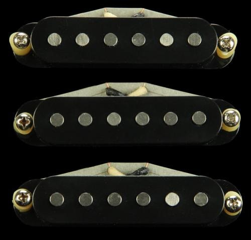 Bare Knuckle Trilogy Suite Single Coil Pickup Set (Black)