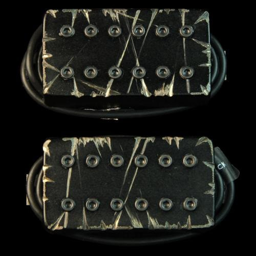 Bare Knuckle Warpig Humbucker Pickup Set (Black Battleworn)