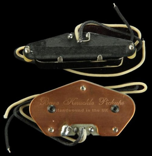Bare Knuckle Yardbird Tele Pickup Set Nickel