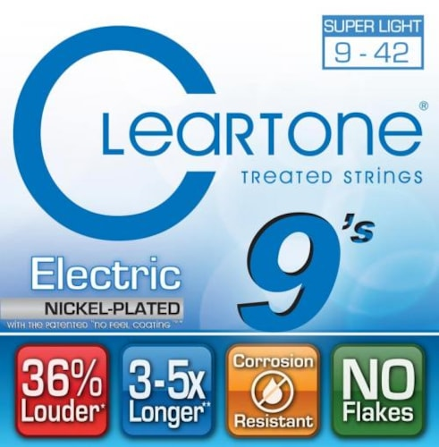 Cleartone EMP Electric Guitar Strings Super Light 9-42