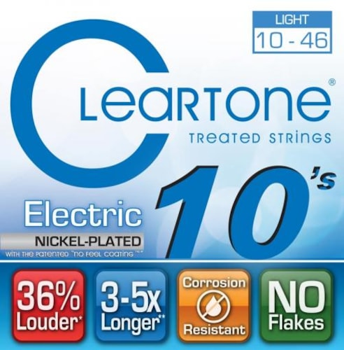 Cleartone EMP Electric Guitar Strings Light 10-46
